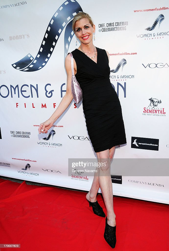 Debbie Dickinson attends the 2013 Women & Fashion FilmFest Launch Party at Bobby's Nightclub on June 5, 2013 in New York City.