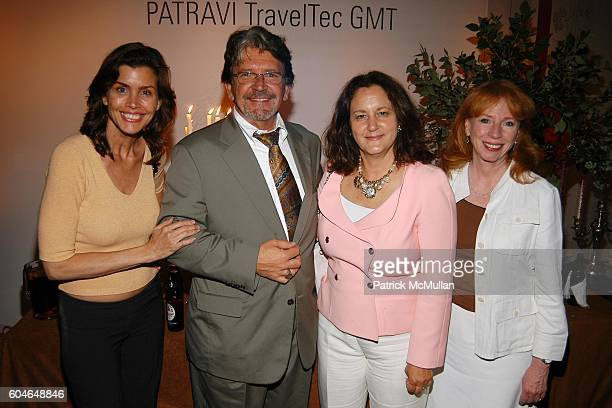 Debbie Dickinson Joseph Urich Sky Underwood and Denise Ortell attend Carl F Bucherer Introduces PATRAVI TRAVELTEC GMT to NYC at 519 8th Ave on June...