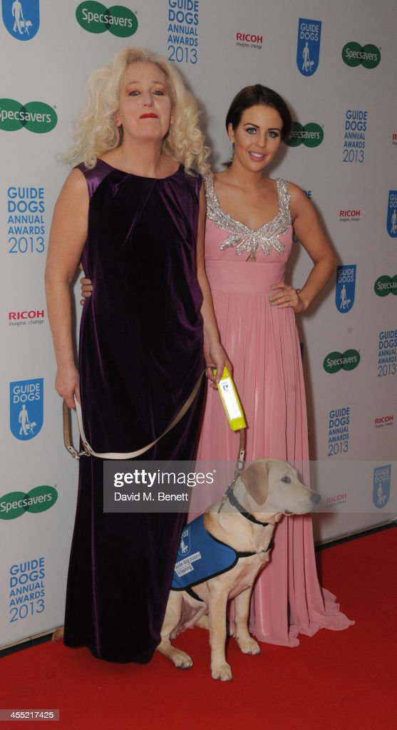 Debbie Douglas and Lydia Bright attends the Guide Dogs UK Annual Awards 2013 at the London Hilton on December 11, 2013 in London, England.