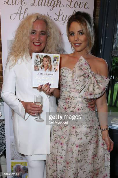 Debbie Douglas joins Lydia Rose Bright as she celebrates the release of her new book' Live Laugh Love Always Lydia' at The Dead Dolls House in...