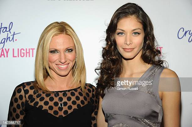 Debbie Gibson and Dayana Mendoza of The Celebrity Apprentice attend a Crystal Light Mocktails launch event to celebrate new limitededition Mocktails...