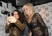 Debbie Gibson and Isabela Moner perform at the 22nd Annual Rockers On Broadway at Le Poisson Rouge on November 9 2015 in New York New York