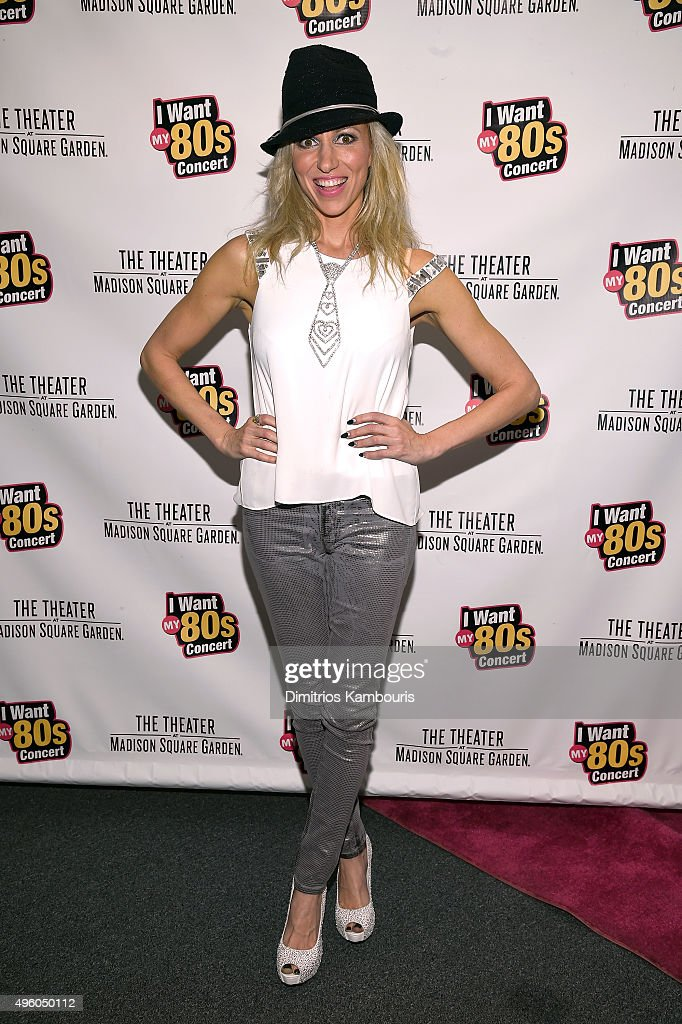 Debbie Gibson attends the 'I Want My 80's' Concert at The Theater at Madison Square Garden on November 6, 2015 in New York City.