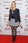 Debbie Gibson attends the world premiere of 'Dee Snider's Rock And Roll Christmas Tale' at Broadway Playhouse at Water Tower Place on November 19...