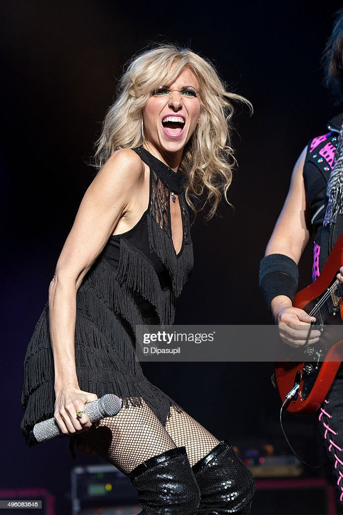 Debbie Gibson performs onstage during the 'I Want My 80's' concert at The Theater at Madison Square Garden on November 6, 2015 in New York City.
