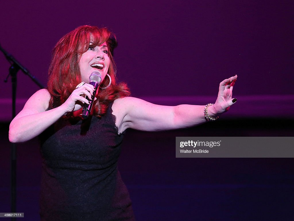 Debbie Gravitte performs at the 22nd annual Oscar Hammerstein Award gala at The Hudson Theatre on December 9, 2013 in New York City.