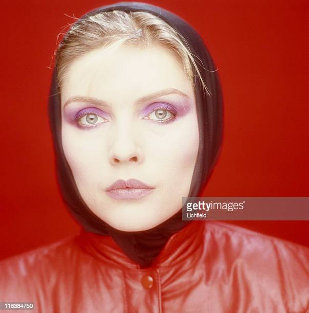 Debbie Harry American songwriter actress and lead singer of 'Blondie' New York USA 25th November 1980