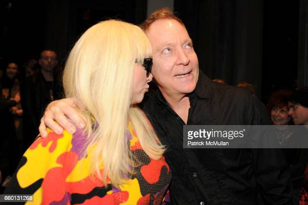 Debbie Harry and Fred Schneider attend ROGER PADILHA MAURICIO PADILHA Celebrate Their Rizzoli Publication THE STEPHEN SPROUSE BOOK Hosted by DEBBIE...