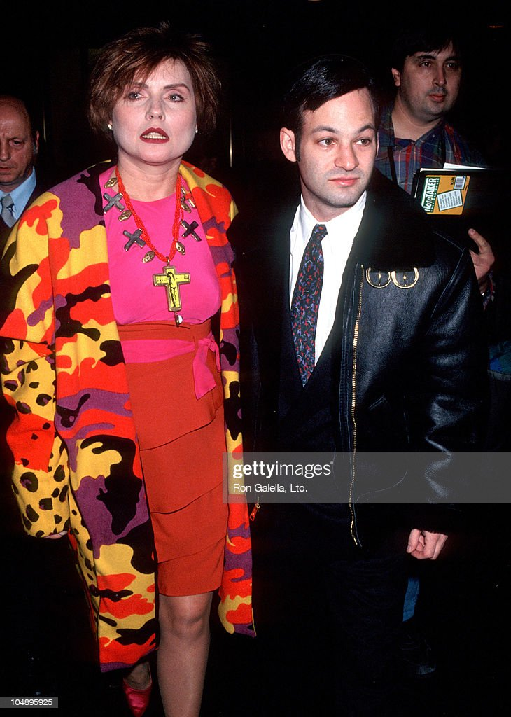 Debbie Harry and Guest during 57th Annual NY Film Critics Awards at Rainbow Room in New York City New York United States