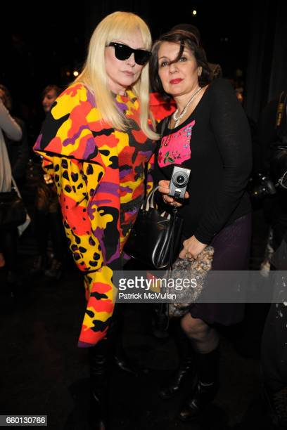 Debbie Harry and Maripol attend ROGER PADILHA MAURICIO PADILHA Celebrate Their Rizzoli Publication THE STEPHEN SPROUSE BOOK Hosted by DEBBIE HARRY...