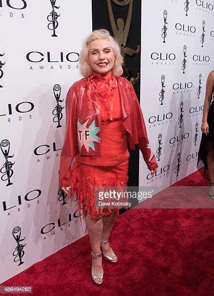 Debbie Harry arrives at 55th Annual CLIO Awards at Cipriani Wall Street on October 1 2014 in New York City