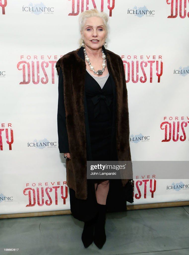Debbie Harry attend the 'Forever Dusty' Opening Night at New World Stages on November 18, 2012 in New York City.