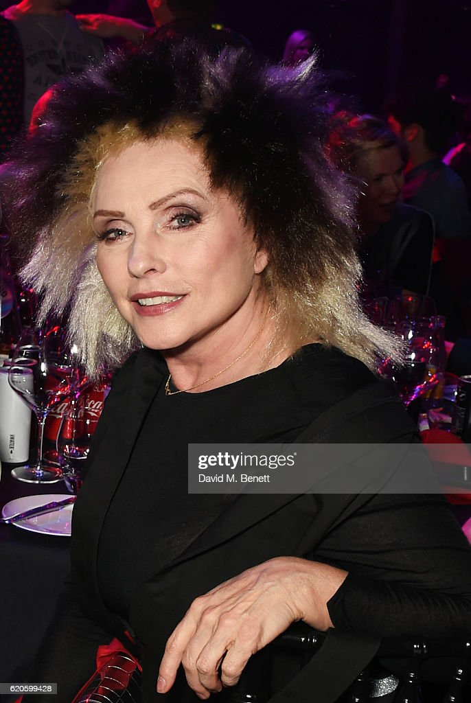 Debbie Harry attends a drinks reception at The Stubhub Q Awards 2016 at The Roundhouse on November 2, 2016 in London, England.