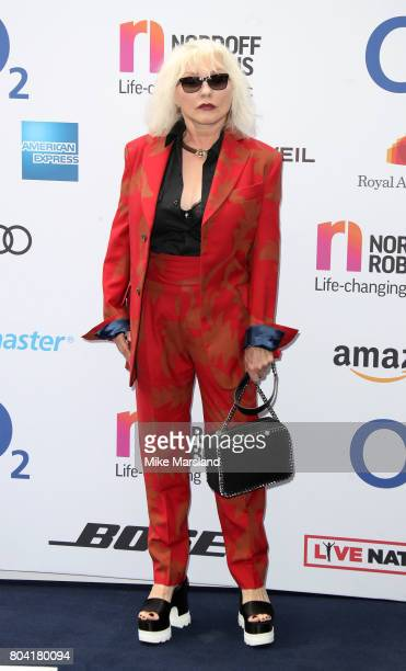 Debbie Harry attends Nordoff Robbins O2 Silver Clef awards at The Grosvenor House Hotel on June 30 2017 in London England