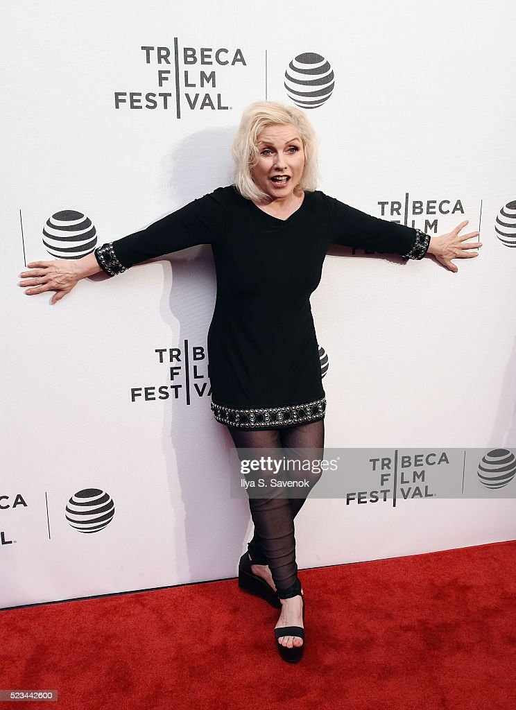 Debbie Harry attends 'SHOT! The Psycho-Spiritual Mantra Of Rock' Screening during 2016 Tribeca Film Festival on April 22, 2016 in New York City.