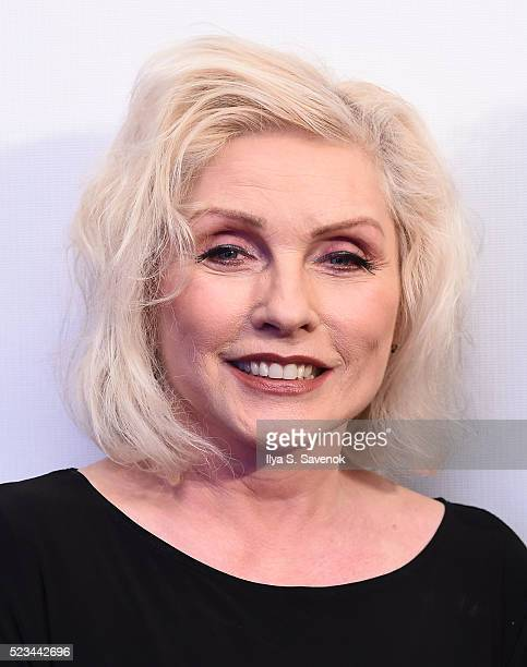 Debbie Harry attends 'SHOT The PsychoSpiritual Mantra Of Rock' Screening during 2016 Tribeca Film Festival on April 22 2016 in New York City