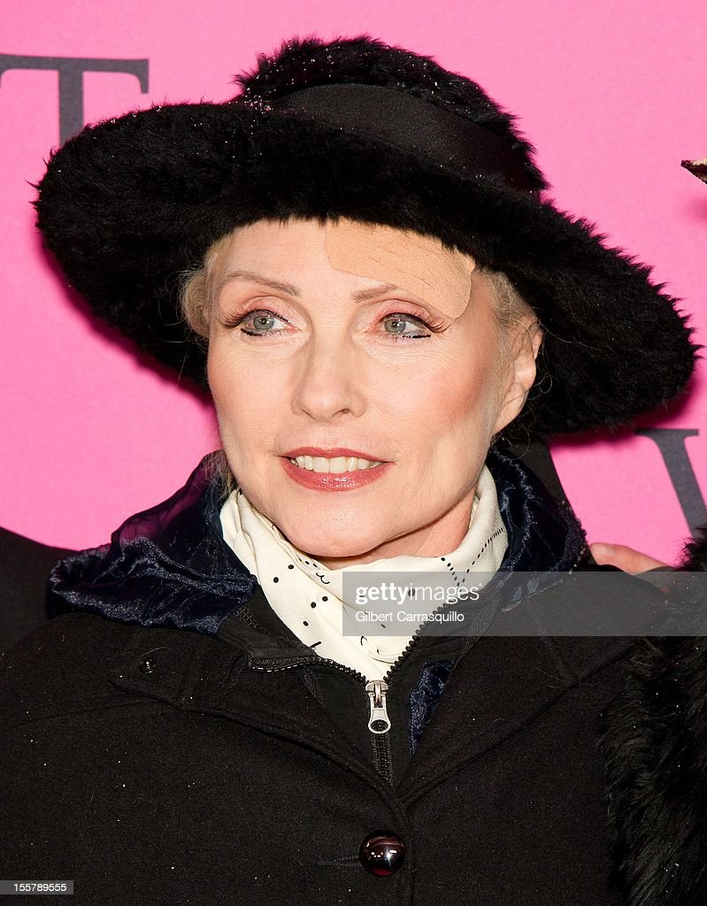 Debbie Harry attends the 2012 Victoria's Secret Fashion Show at the Lexington Avenue Armory on November 7, 2012 in New York City.