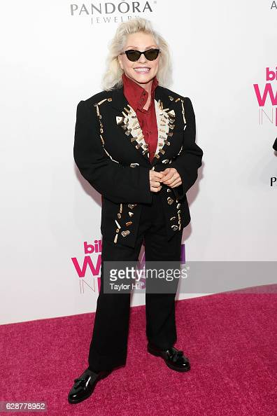 Debbie Harry attends the 2016 Billboard Women in Music Awards at Pier 36 on December 9 2016 in New York City