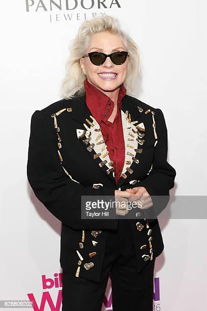 Debbie Harry attends the 2016 Billboard Women in Music Awards at Pier 36 on December 9 2016 in New York City