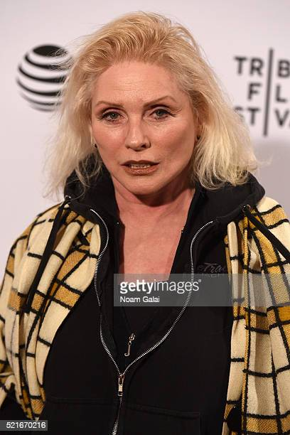Debbie Harry attends the 'Check It' Premiere during the 2016 Tribeca Film Festival at Chelsea Bow Tie Cinemas on April 16 2016 in New York City