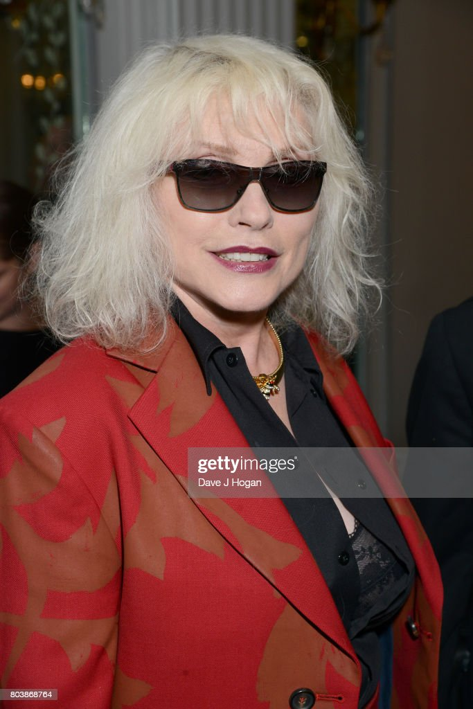 Debbie Harry attends the Nordoff Robbins' O2 Silver Clef Awards at The Grosvenor House Hotel on June 30, 2017 in London, England.