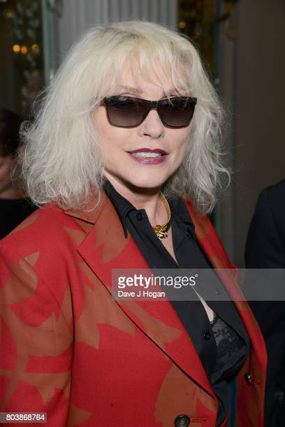 Debbie Harry attends the Nordoff Robbins' O2 Silver Clef Awards at The Grosvenor House Hotel on June 30 2017 in London England