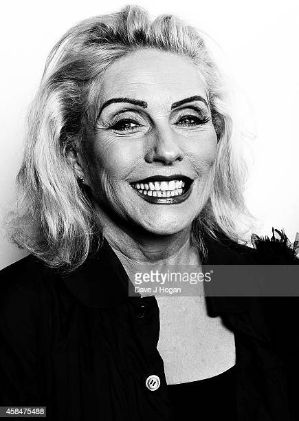 Debbie Harry attends the private view of Chris Stein/Negative Me Blondie and the Advent of Punk at Somerset House on November 5 2014 in London England