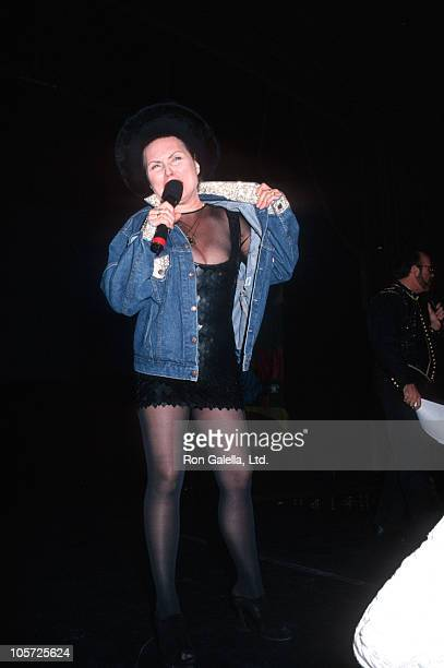 Debbie Harry during The Design Industries Foundation Fighting AIDS Benefit February 26 1994 at Manhattan Opera House in New York City New York United...