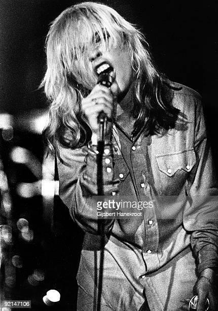 Debbie Harry from Blondie performs live at the Vereeniging in Nijmegen Holland on September 04 1978