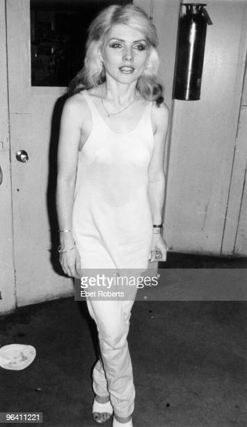 Debbie Harry of Blondie at My Father's Place on June 1st 1978 in Long Island New York