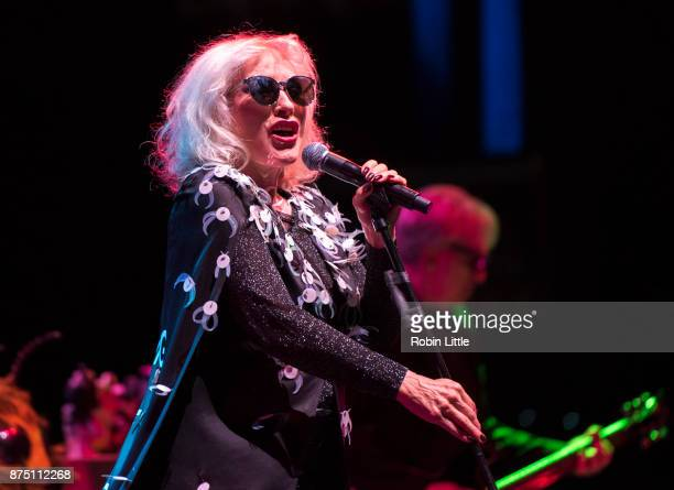 Debbie Harry of Blondie performs at the O2 Academy Brixton on November 16 2017 in London England