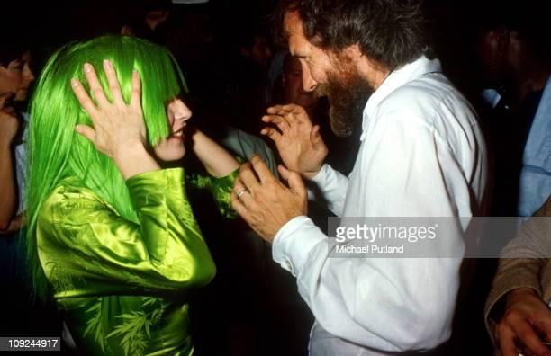 Debbie Harry of Blondie with Jim Henson in New York 1982
