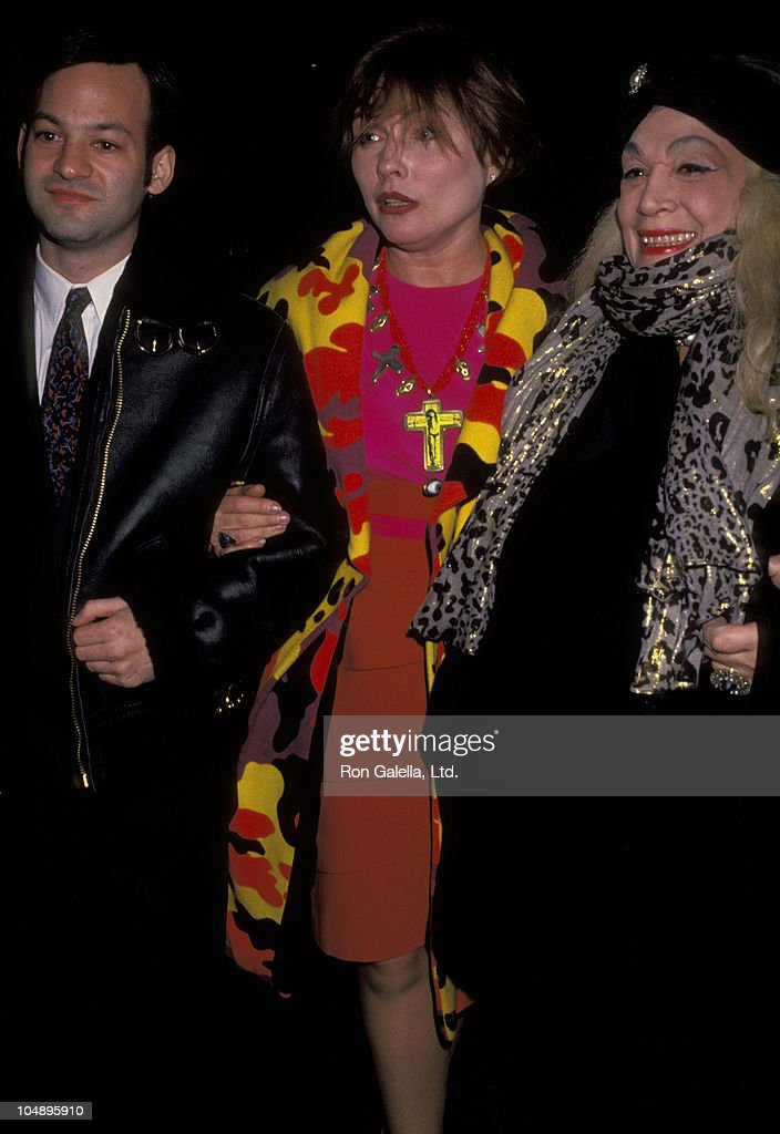 Debbie Harry Sylvia Miles And Guest during 57th Annual NY Film Critics Awards at Rainbow Room in New York City New York United States