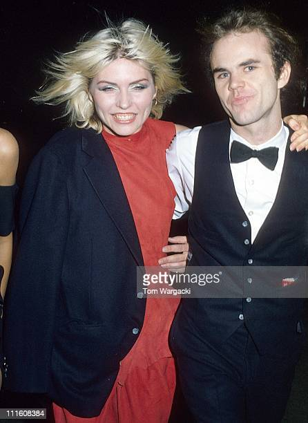 Debbie Harry with her boyfriend during Debbie Harry Sighting September 22 1978 in New York City United States