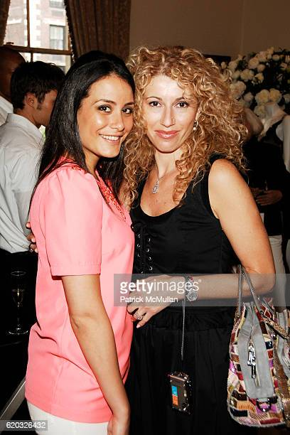 Debbie Hoffman and Adriana Hoffman attend NORDSTROM Private Shopping Event With Designer Appearances at Harold Pratt House on June 18 2008 in New...