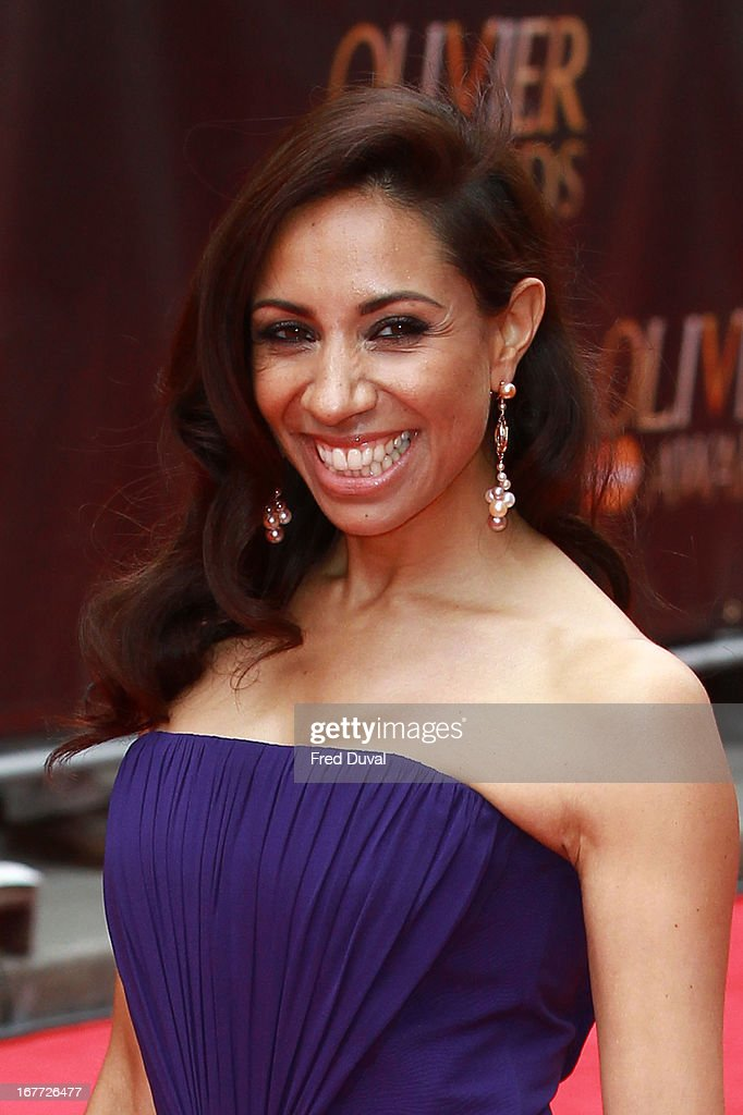 Debbie Kurup attends The Laurence Olivier Awards at The Royal Opera House on April 28, 2013 in London, England.