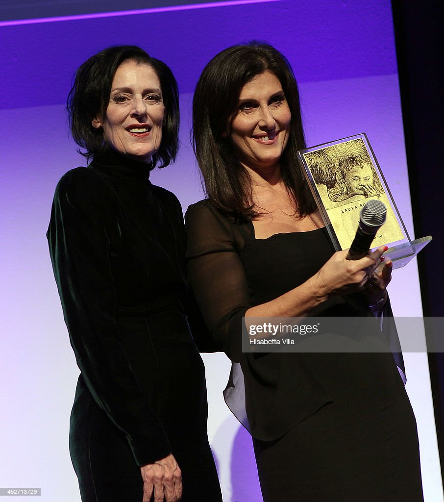 Debbie Mace and Laura Rossi (R) attend The Children For Peace Benefit Gala Ceremony at Spazio Novecento on November 30, 2013 in Rome, Italy.