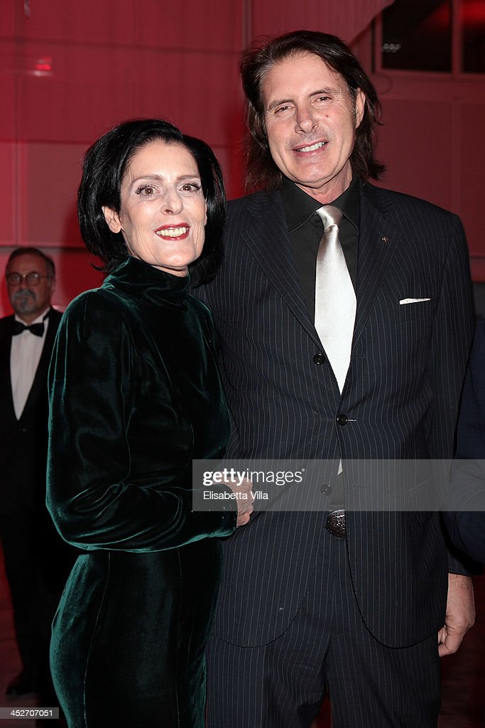 Debbie Mace and Pascal Pugliese attend The Children For Peace Benefit Gala Ceremony at Spazio Novecento on November 30, 2013 in Rome, Italy.