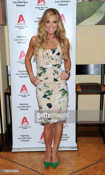 Debbie Matenopoulos attends the ALS Association Greater New York Chapter Fundraiser at STIX Mediterranean Grill on July 10 2013 in New York City