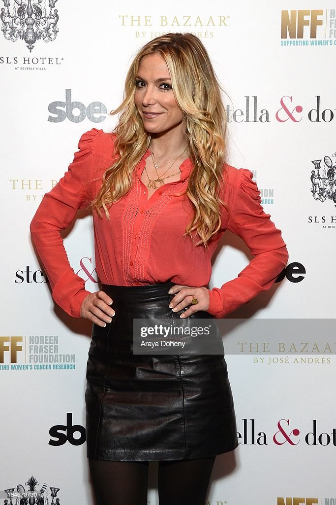 Debbie Matenopoulos attends the Stella & Dot Trunk Show Benefiting The Noreen Fraser Foundation at The Bazaar at the SLS Hotel Beverly Hills on October 14, 2013 in Los Angeles, California.