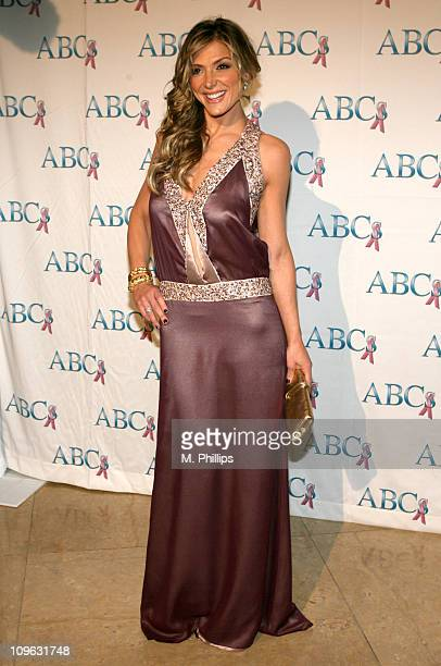 Debbie Matenopoulos during Associates for Breast and Prostate Cancer to Celebrate at Beverly Hilton in Beverly Hills California United States