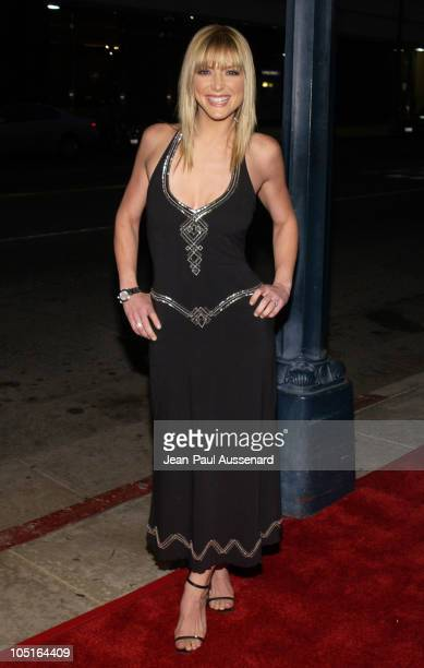 Debbie Matenopoulos during ATAS Honor the 55th Annual Primetime Emmy awards Nominees at Spago in Beverly Hills California United States