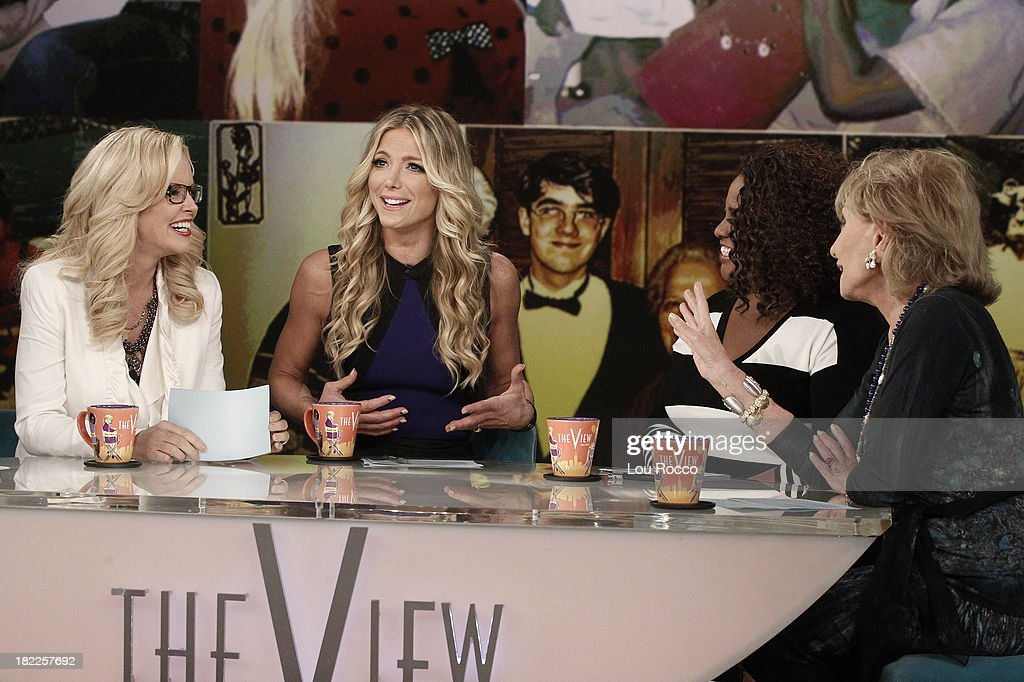 THE VIEW - (9.26.13) Debbie Matenopoulos, former co-host of 'The View' guest co-hosts; Olivia Wilde ('Rush'); Hannah Ware and Stuart Townsend (ABC's 'Betrayal') are guests today, Thursday, September 26, 2013 on ABC's 'The View.' 'The View' airs Monday-Friday (11:00 am-12:00 pm, ET) on the ABC Television Network. WALTERS
