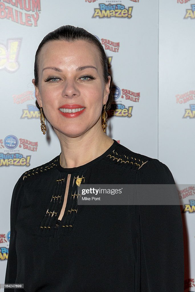 Debbie Mazar attends the Ringling Bros. and Barnum & Bailey 'Build To Amaze!' Opening Night at Barclays Center on March 21, 2013 in the Brooklyn borough of New York City.
