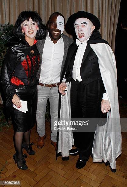 Debbie McGee and Paul Daniels and guest attend Virgin Media's Tivo Horror Quiz at One Marylebone on October 26 2011 in LondonEngland