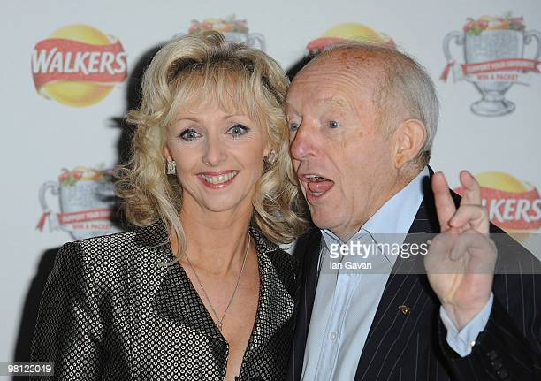 Debbie McGee and Paul Daniels attends the Walkers Launch Party to launch 15 new flavours of crisps at Orchid on March 29 2010 in London England