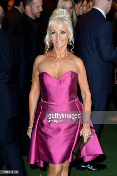 Debbie McGee attends the opening night of 'Mel Brooks' Young Frankenstein' at Garrick Theatre on October 10 2017 in London England