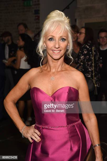 Debbie McGee attends the press night performance of 'Mel Brooks' Young Frankenstein' at The Garrick Theatre on October 10 2017 in London England