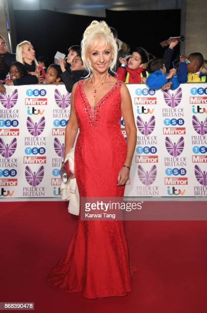 Debbie McGee attends the Pride Of Britain Awards at the Grosvenor House on October 30 2017 in London England