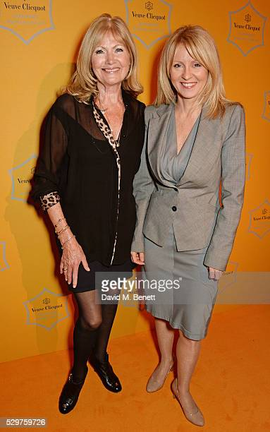 Debbie Moore and Esther McVey MP attend the Veuve Clicquot Business Woman Award at The Ballroom of Claridge's on May 9 2016 in London Englan